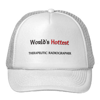 World's Hottest Therapeutic Radiographer Mesh Hats