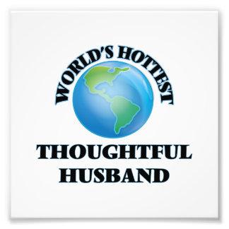 World's Hottest Thoughtful Husband Photographic Print