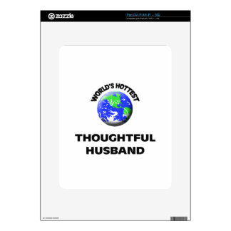 World's Hottest Thoughtful Husband Decals For The iPad
