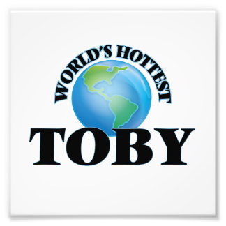 World's Hottest Toby Photo Print