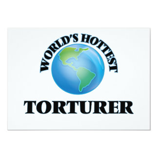 World's Hottest Torturer Personalized Announcement
