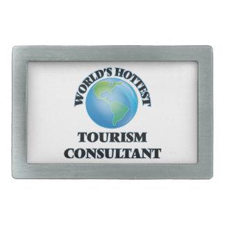 World's Hottest Tourism Consultant Belt Buckle