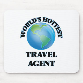 World's Hottest Travel Agent Mouse Pad
