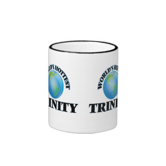 World's Hottest Trinity Ringer Coffee Mug