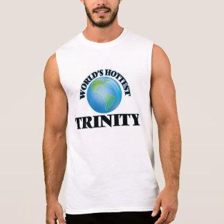World's Hottest Trinity Sleeveless T-shirts