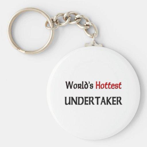 World's Hottest Undertaker Key Chain