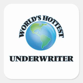 World's Hottest Underwriter Stickers