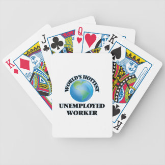 World's Hottest Unemployed Worker Bicycle Playing Cards