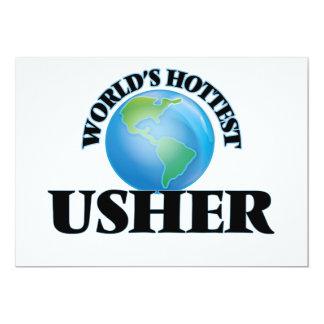 World's Hottest Usher Card