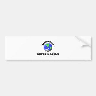World's Hottest Veterinarian Bumper Sticker