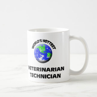 World's Hottest Veterinarian Technician Classic White Coffee Mug