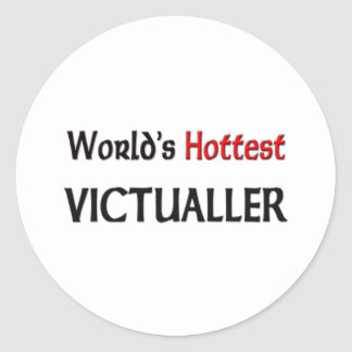 World's Hottest Victualler Stickers