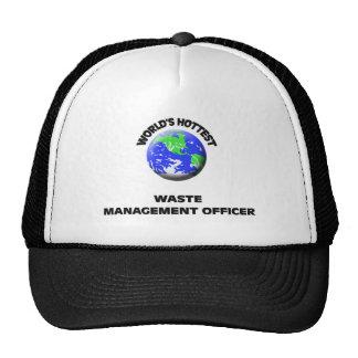 World's Hottest Waste Management Officer Trucker Hat