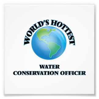 World's Hottest Water Conservation Officer Photograph