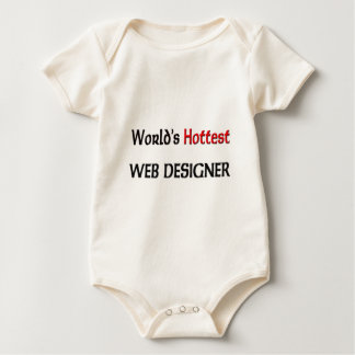 World's Hottest Web Designer Baby Bodysuit