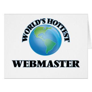 World's Hottest Webmaster Cards