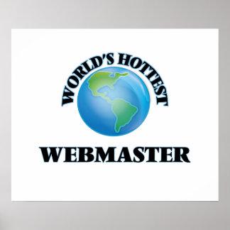 World's Hottest Webmaster Poster