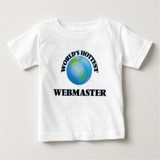World's Hottest Webmaster T-shirt