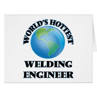 World's Hottest Welding Engineer Card