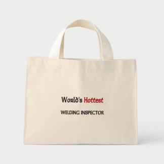 World's Hottest Welding Inspector Mini Tote Bag