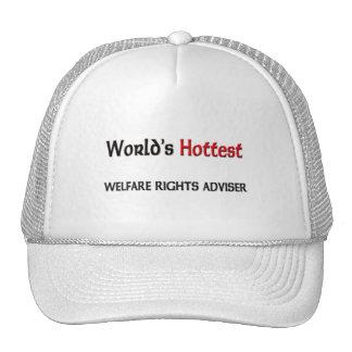World's Hottest Welfare Rights Adviser Trucker Hat
