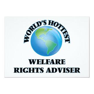 World's Hottest Welfare Rights Adviser Personalized Invitation
