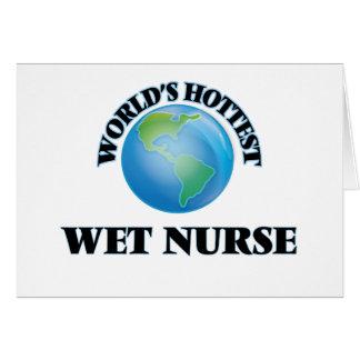 World's Hottest Wet Nurse Cards
