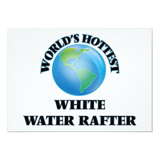World's Hottest White Water Rafter Announcement
