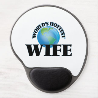 World's Hottest Wife Gel Mouse Mats
