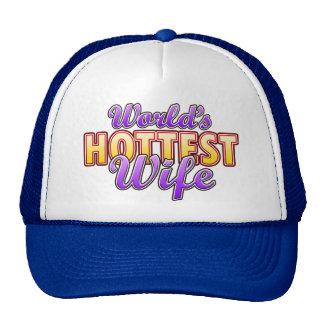 World's Hottest Wife Trucker Hat