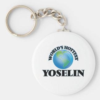 World's Hottest Yoselin Keychains