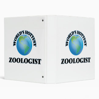 World's Hottest Zoologist Binders