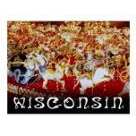 World's Largest Carousel, Wisconsin Postcard