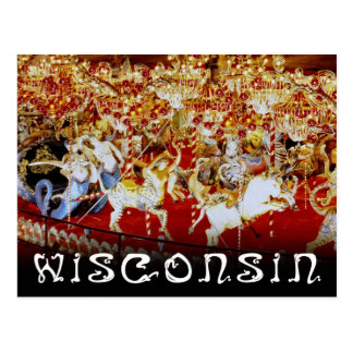 World's Largest Carousel, Wisconsin Postcard