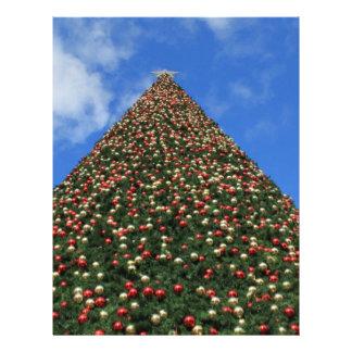 World's Largest Christmas Tree Letterhead