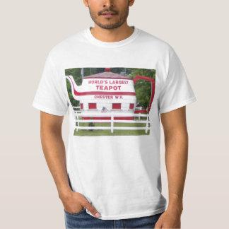 World's Largest Teapot T-Shirt