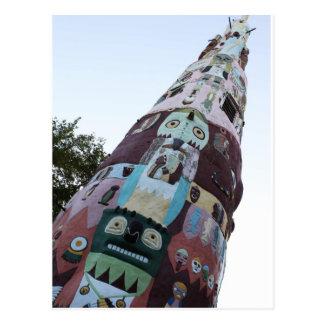 World's Largest Totem Pole Postcard