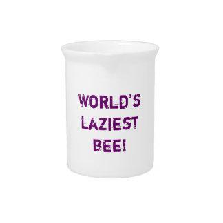 World's laziest bee drink pitchers