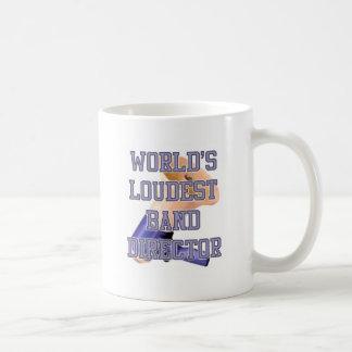 World's Loudest Band Director Classic White Coffee Mug
