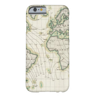 World's magnetic declination barely there iPhone 6 case