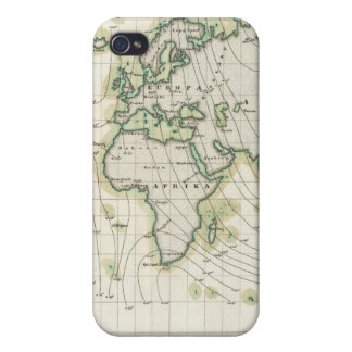 World's magnetic declination case for iPhone 4
