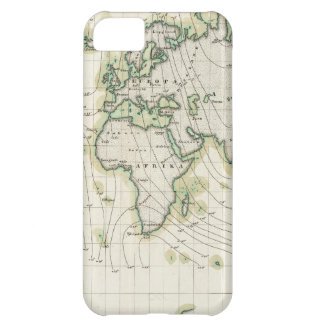 World's magnetic declination case for iPhone 5C