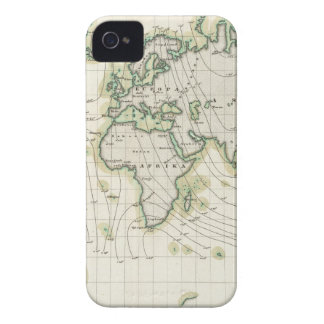 World's magnetic declination iPhone 4 case