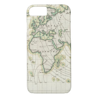 World's magnetic declination iPhone 7 case