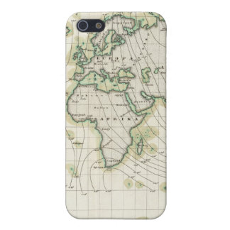 World's magnetic declination iPhone SE/5/5s case