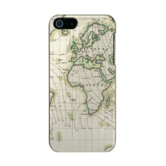 World's magnetic declination metallic iPhone SE/5/5s case