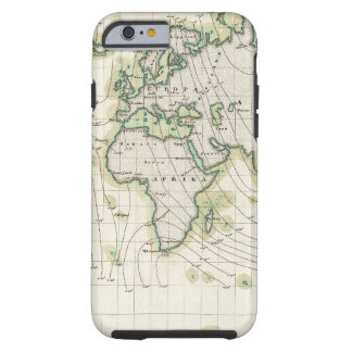 World's magnetic declination tough iPhone 6 case