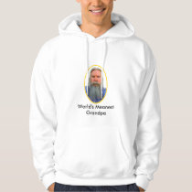World's Meanest Grandpa The MUSEUM Zazzle Gifts Hoodie