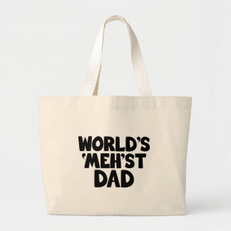 World's mehst dad funny canvas bag