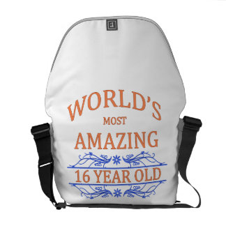 World's Most Amazing 16 Year Old Messenger Bag